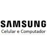 Logo da Empresa Samsung - Celular e Computador